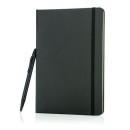 Notatnik A5, twarda okładka i długopis, touch pen  (P773.251)