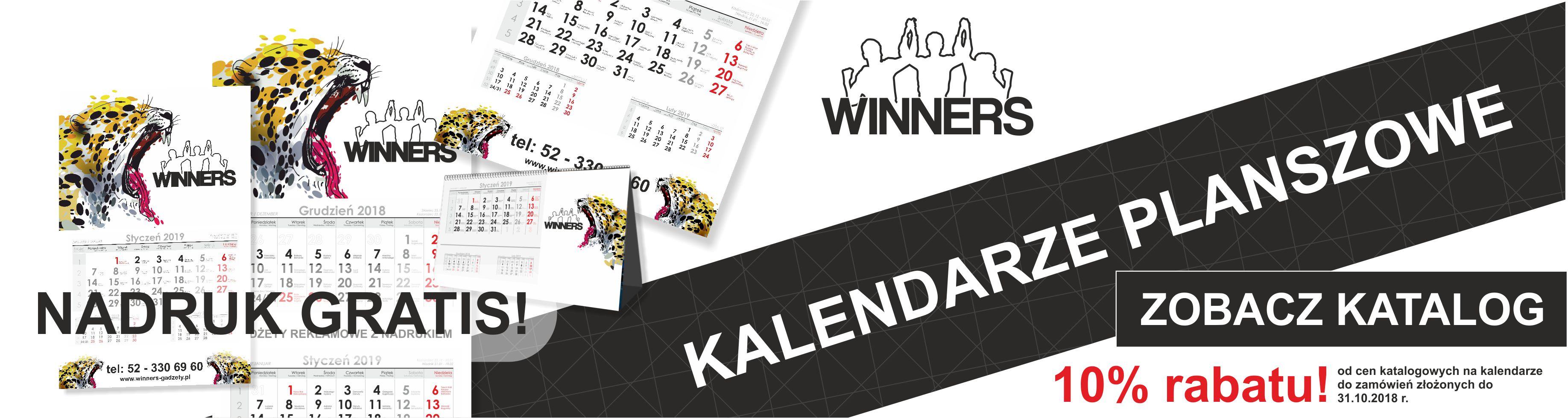baner kalendarze planszowe10%rabatu