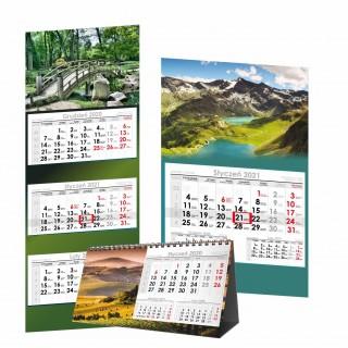 kalendarze  nowe 2021
