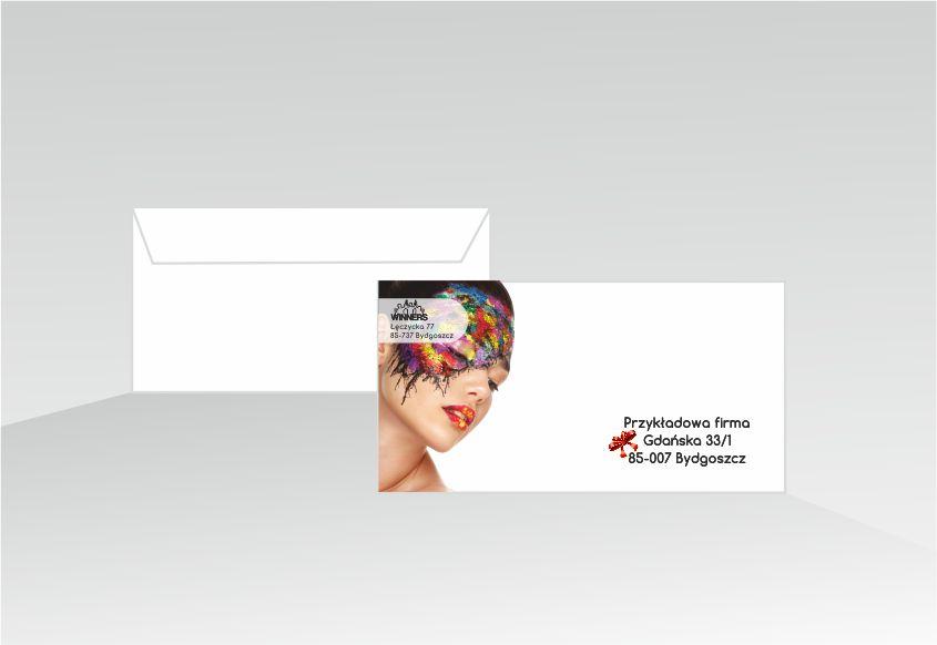 Personalizacja nadawcy z personalizacją odbiorcy z grafiką